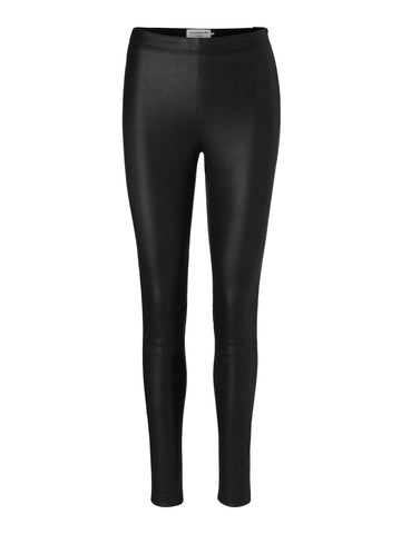 Rosemunde skind leggings Black Basic