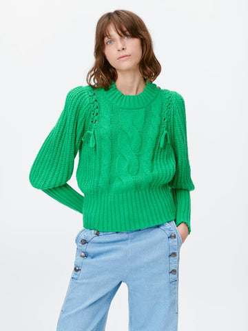 Munthe Turner knit, SS/21, green