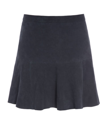 Kudibal Lauren suede skirt Blue AW/19