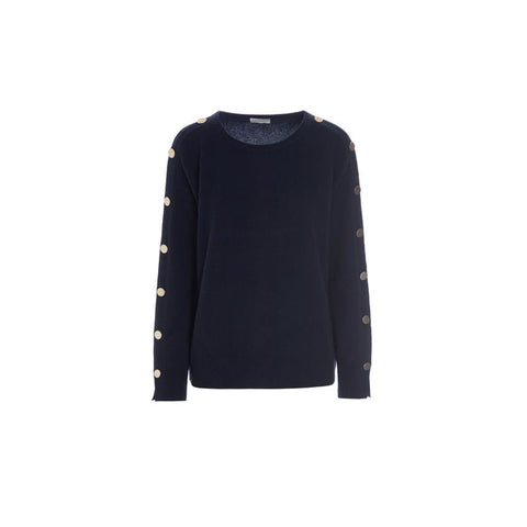 Kudibal Cashmere Sweater AW/19 Navy blue