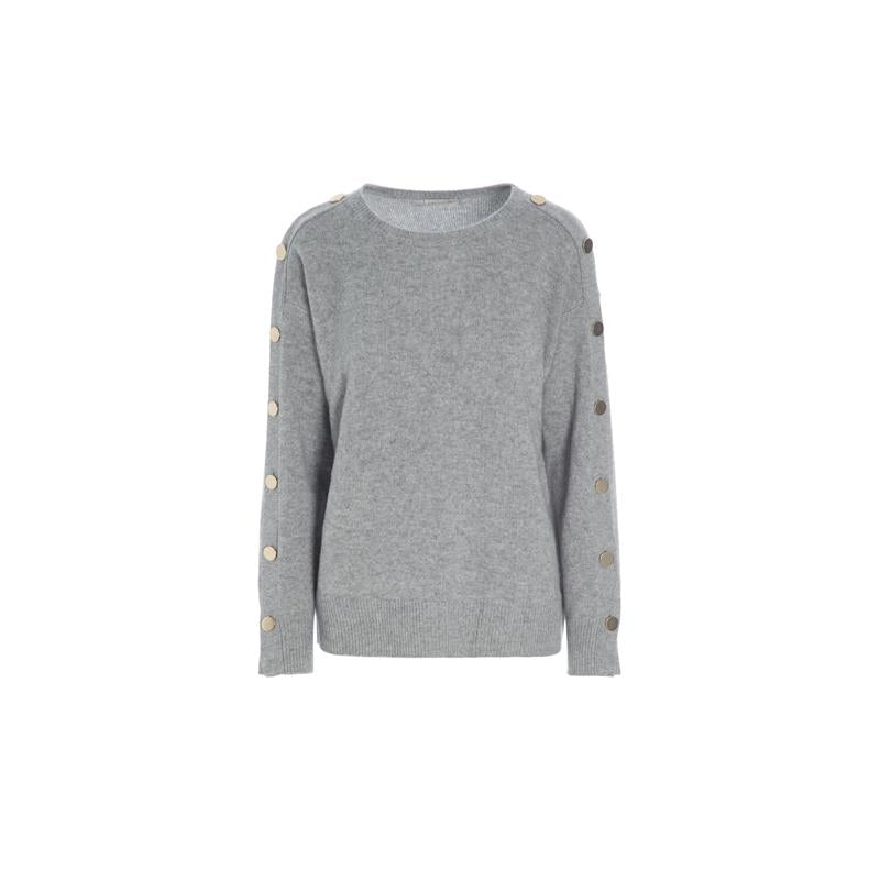 Kudibal cashmere sweater AW/19 Grey melange