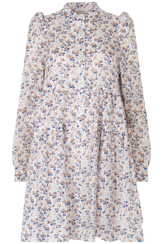 Munthe Triangle dress SS/21, Ivory flower