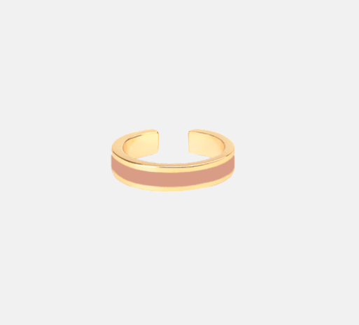 Bangle ring basic powder pink