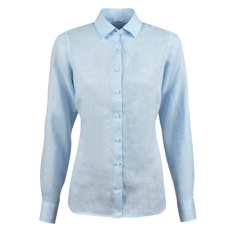 Stenstrøms linen shirt SS/20 light blue