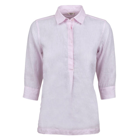 Stenströms linen pop over shirt SS/20 lt. pink