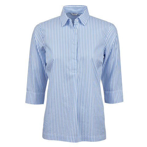 Stenströms pop over shirt SS/20 Stripe