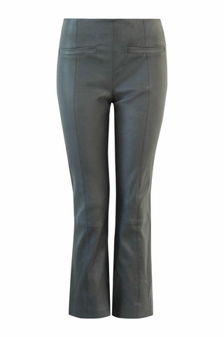 Ally croped leather pants AW/20 Black