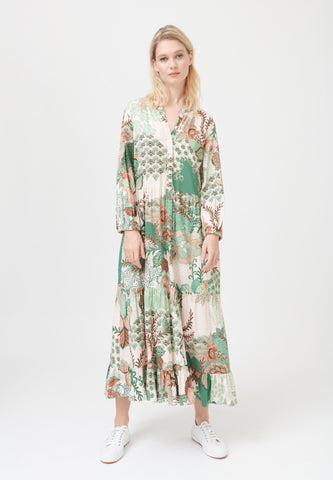 Kudibal felicia dress, SS/21, Prairie green