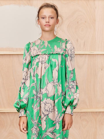 Munthe Tangerine dress, SS/21 green