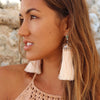 CARNIVAL EARRINGS - CREAM