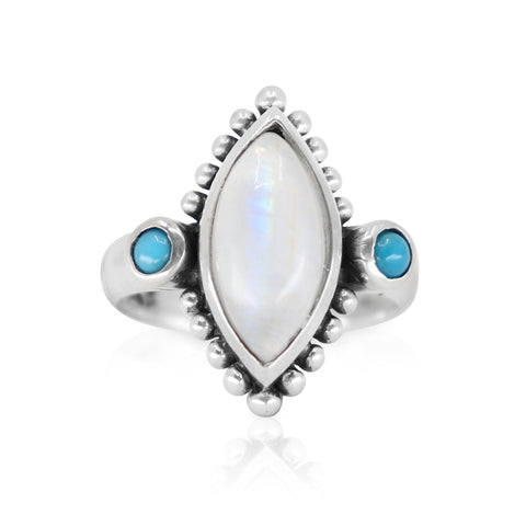 Atlas Moonstone Ring