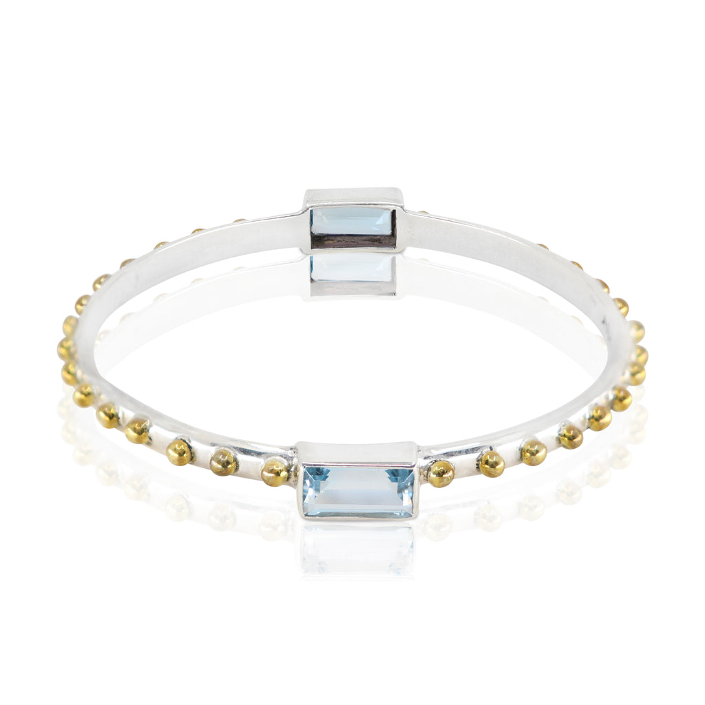The Celine Topaz Bangle