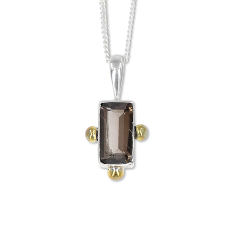 The Celine Smokey Quartz Pendant