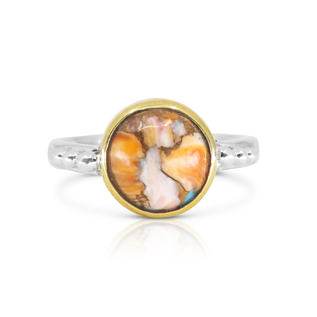 Delphi Oyster Turquoise Ring