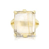 Etheria Golden Rutilated Quartz Gold Ring