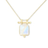 Etheria Moonstone Gold Necklace