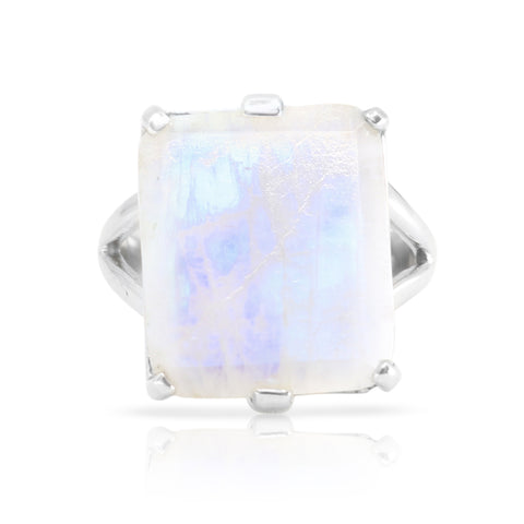 Etheria Moonstone Silver Ring