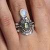 Solace Labradorite Ring