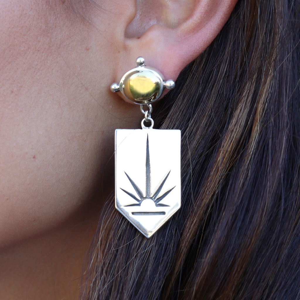 The Rising Sun Earrings