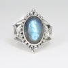 The Rising Labradorite Ring