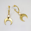 Baby hoops eclipse gold