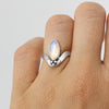 Moonstone Marquise ring
