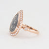 9k Rose Gold Dynasty ring