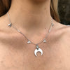 eclipse moon necklace