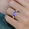 The Celine Amethyst Ring