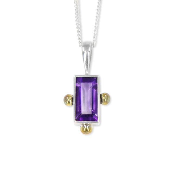 The Celine Amethyst Pendant