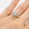 Grey Galaxy Diamond Solitaire
