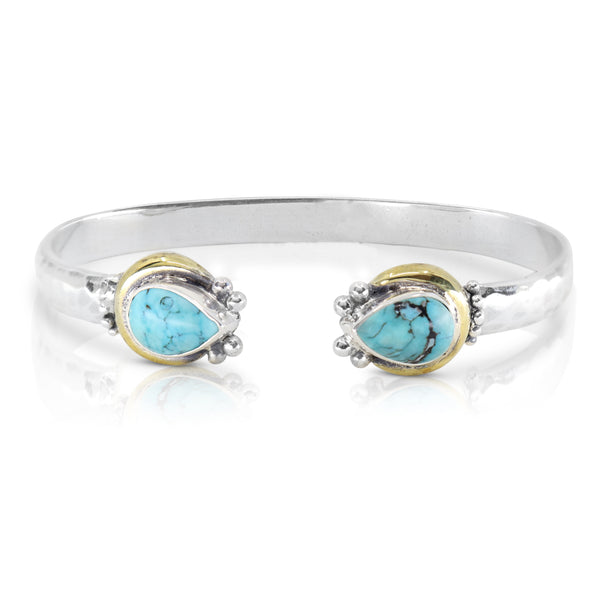 Odyssey Turquoise Cuff