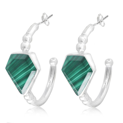 Montana Malachite Hoops