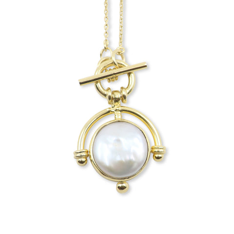 The Lost Pearl Gold Neckace