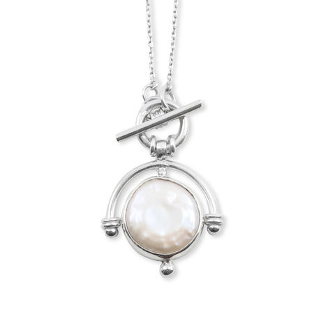 The Lost Pearl Silver Necklace