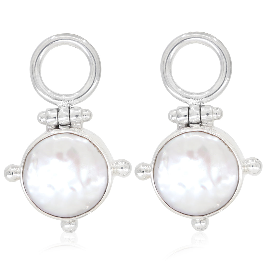 The Lost Pearl Silver Earrings