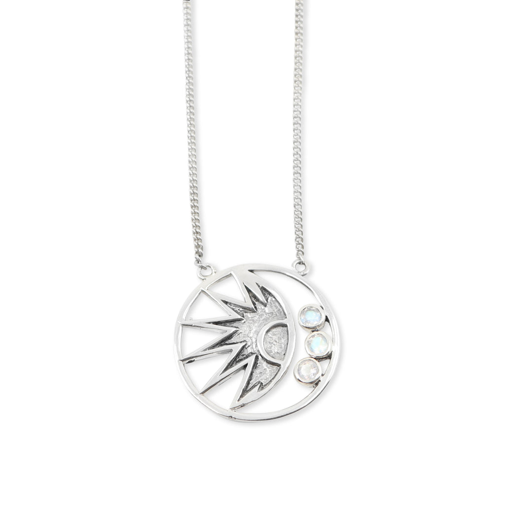 The Milky Way Silver Necklace