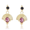 The Empress Ruby Gold Earrings
