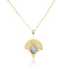 The Empress Labradorite Gold Necklace