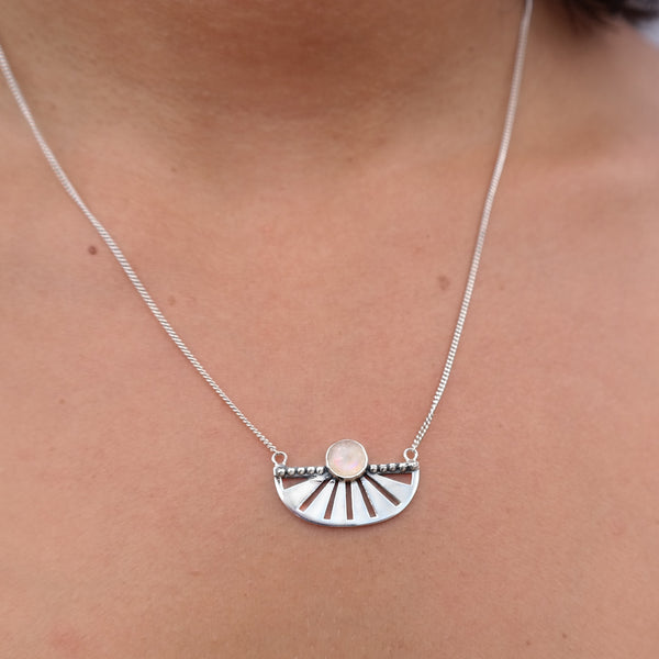 The Adrift necklace moonstone