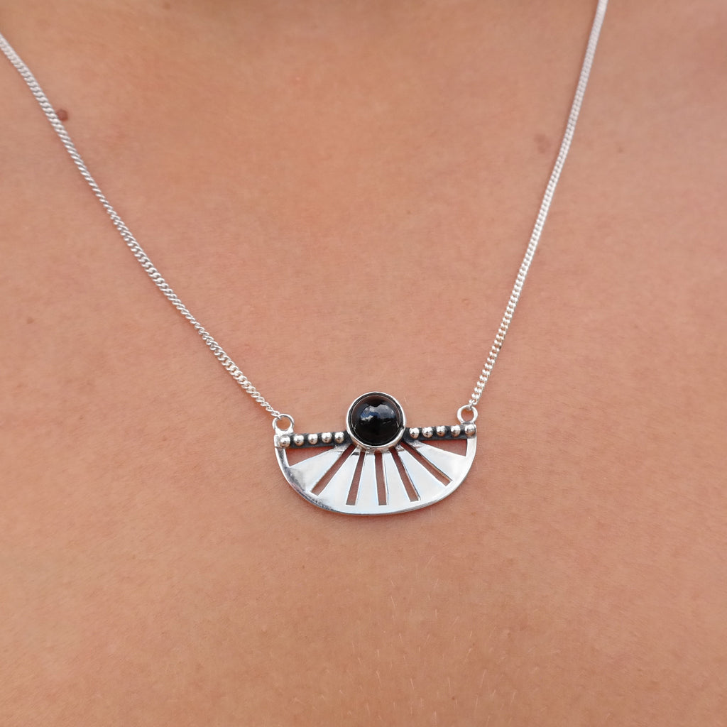 The Adrift Onyx Necklace