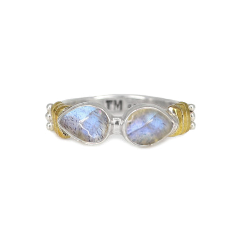 Labradorite Binding Ring