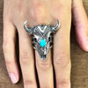The Desert Bison ring
