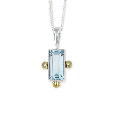 The Celine Topaz Pendant