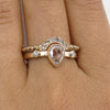 Antique Champagne Diamond ring