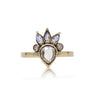 CHAMPAGNE DIAMOND SOLARIS RING