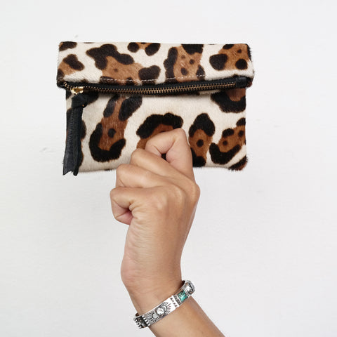 Gold Digger Coin Purse - Cheetah