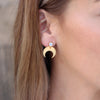 Eclipse Gold Earrings