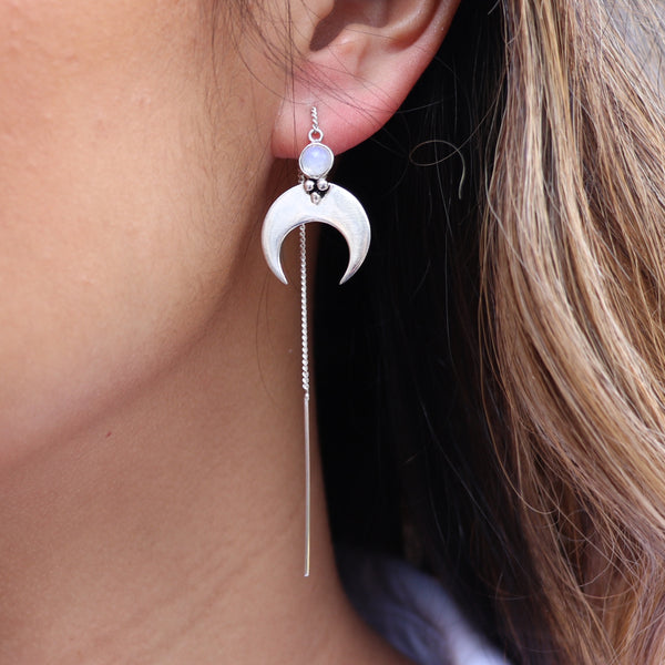 eclipse thread earring
