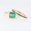 Poison Ivy Square Cut Natural Emerald